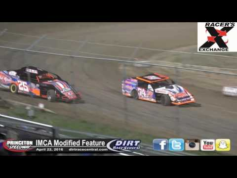 Princeton Speedway 4/22/16 IMCA Modified Feature Finish
