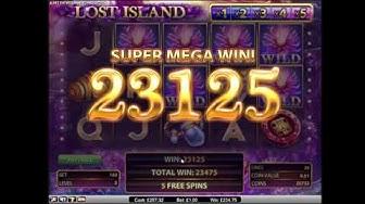 Lost Island Super Mega Win - NetEnt