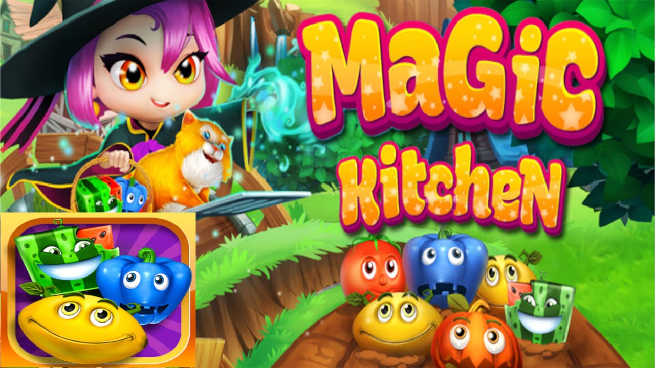 Magic Kitchen: match-3 game – By Social Quantum Ltd -Puzzle – iTunes / Google Play