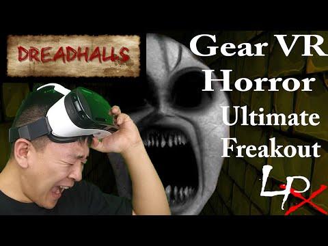 Samsung Gear VR Horror | Oculus Rift |  Dreadhalls Reaction HD