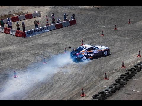 Jad Himo  - Winning Run - ATCL 3rd Drift 2014