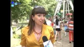 видео Для детей проведён Праздник русской берёзки