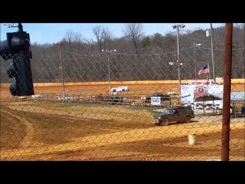 3-22-15 Ponderosa Speedway Practice Crate Late