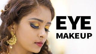 Golden Eye Makeup for Reception & Party   Nature Nurture