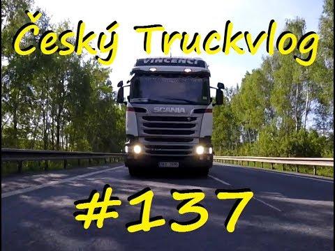 Český Truckvlog #137 - ,, Ujel mi paleťák / Svačina pro tatínka / Naštvaný kamioňák???,,