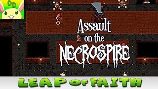 Assault on the Necrospire PC Gameplay/First Impressions ⚫ Leap of Faith Series