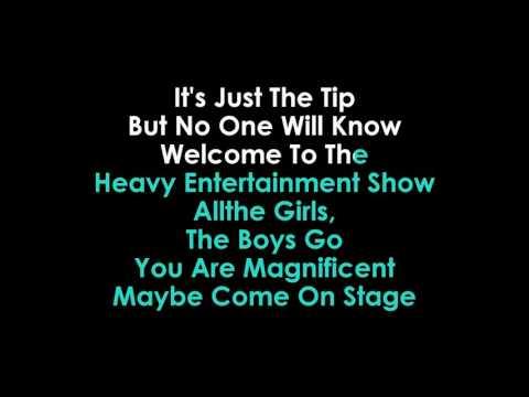 Robbie Williams The Heavy Entertainment Show Karaoke