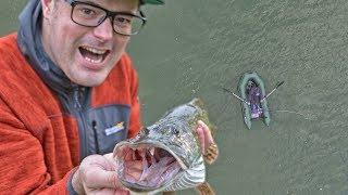 ловля Щуки на троллинг на ПВХ лодке
