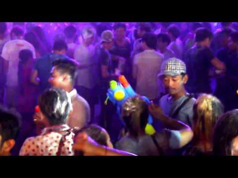 Siem Reap Cambodia - Pub Street - Night Market - Happy New Year