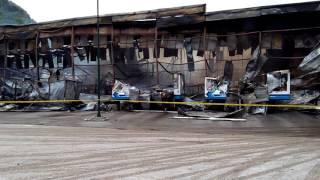 Mostarski Bingo, jutro nakon požara