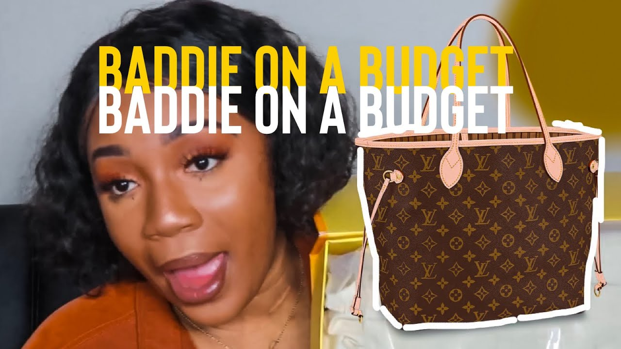 BOUJEE ON A BUDGET | LOUIS VUITTON NEVERFULL MM REPLICA UNBOXING | ALIEXPRESS!?