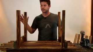 Pallet Furniture Projects | Pallet Wood Coffee Table Diy Tutorial