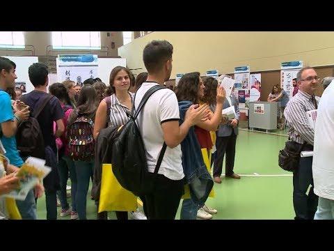 Feria de Bienvenida de la Universidad de Salamanca curso 2017/2018