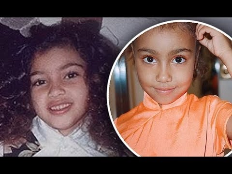 'North is your twin!' Kim Kardashian shocks fans as she looks IDENTICAL to her eldest daughter in th
