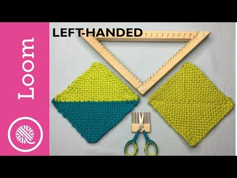How To Weave on a Triangle Loom   GoodKnit Kisses