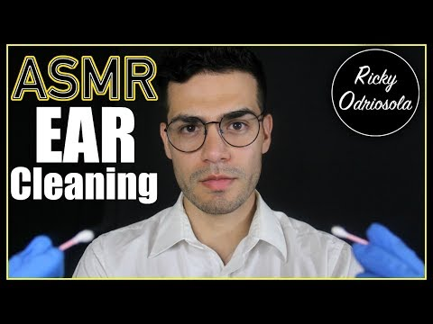 ASMR - Doctor Ear Exam & Cleaning (Male Whisper, Taking Care of Ears for Sleep & Relaxation)