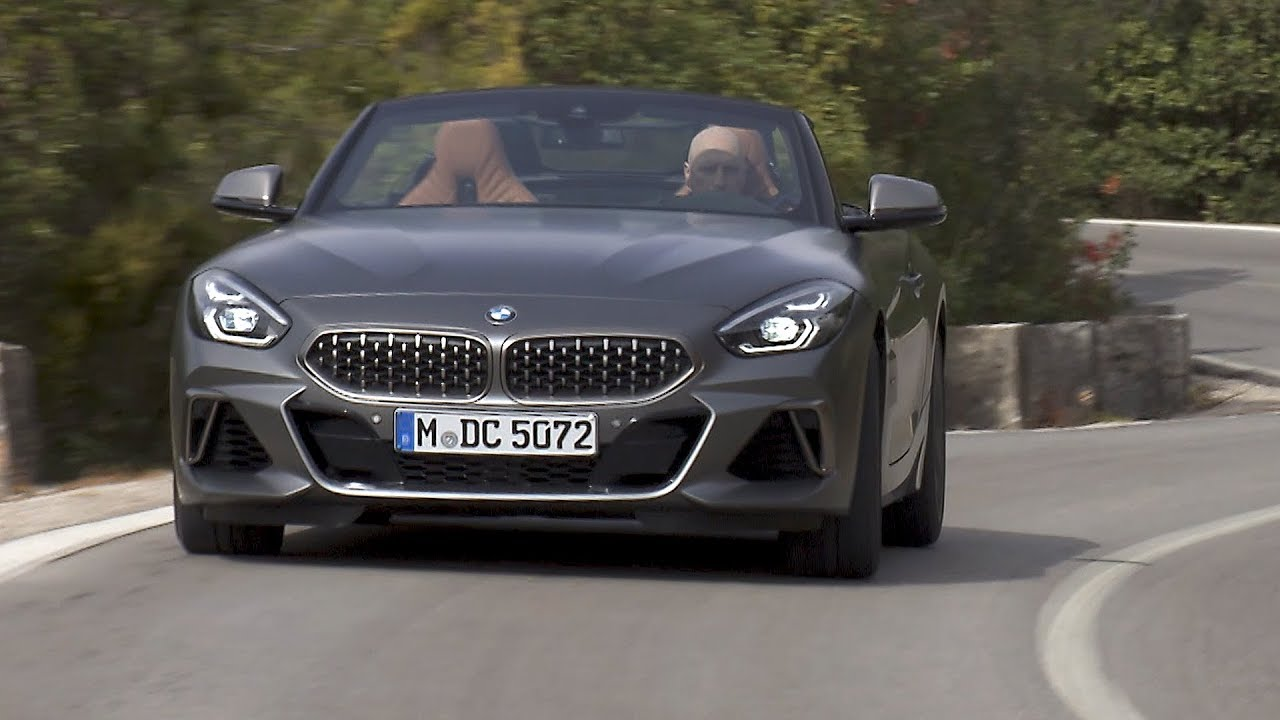 2019 Bmw Z4 M40i Frozen Grey Driving Interior Exterior Youtube