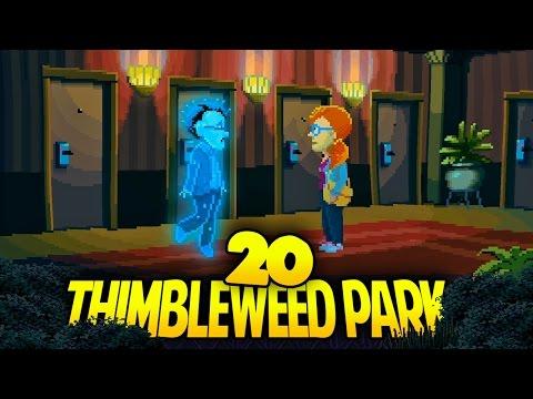 THIMBLEWEED PARK [020] - Papi ist SO stolz! (und SO tot!)