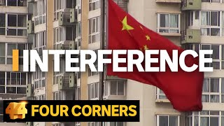 Interference: China's covert political influence campaign in Australia | Four Corners