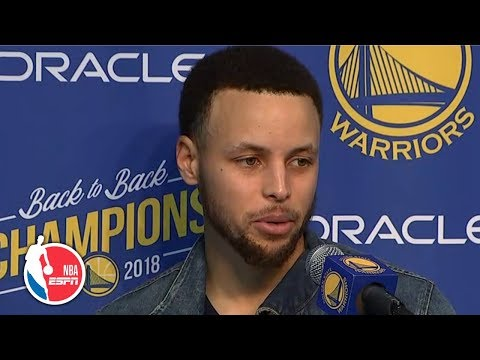 Steph Curry on the recipe to Warriors' success vs. Hornets   NBA Sound