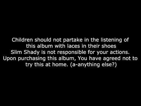 Eminem  Public Service Announcement Skit  Lyrics HD&HQ