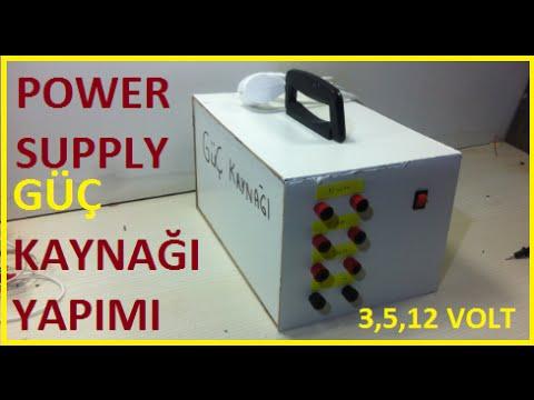 Power Supply Güç Kaynağına Nasıl Dönüşür-Güç Kaynağı Nasıl Yapılır