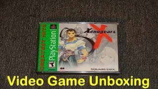(PS1) Xenogears - Video Game Unboxing