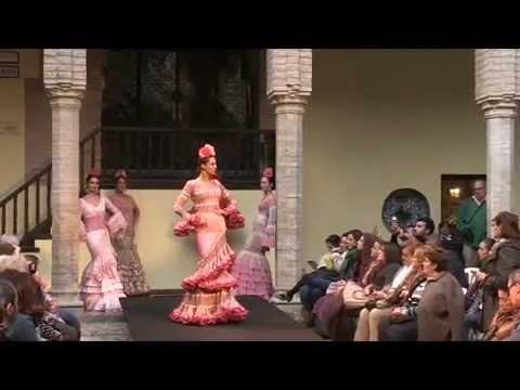 II Congreso Internacional del Flamenco.Desfile de moda flamenca