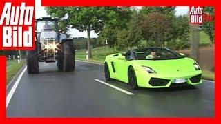 Lamborghini Gallardo vs. Lamborghini R8