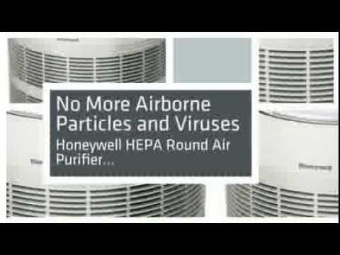 TopBest home air purifiers for allergies-smoke-mold-dust HoneyWellHEPA