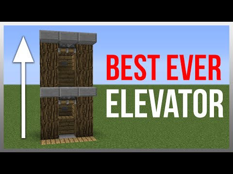 Minecraft 1.10: Redstone Tutorial - BEST Elevator!