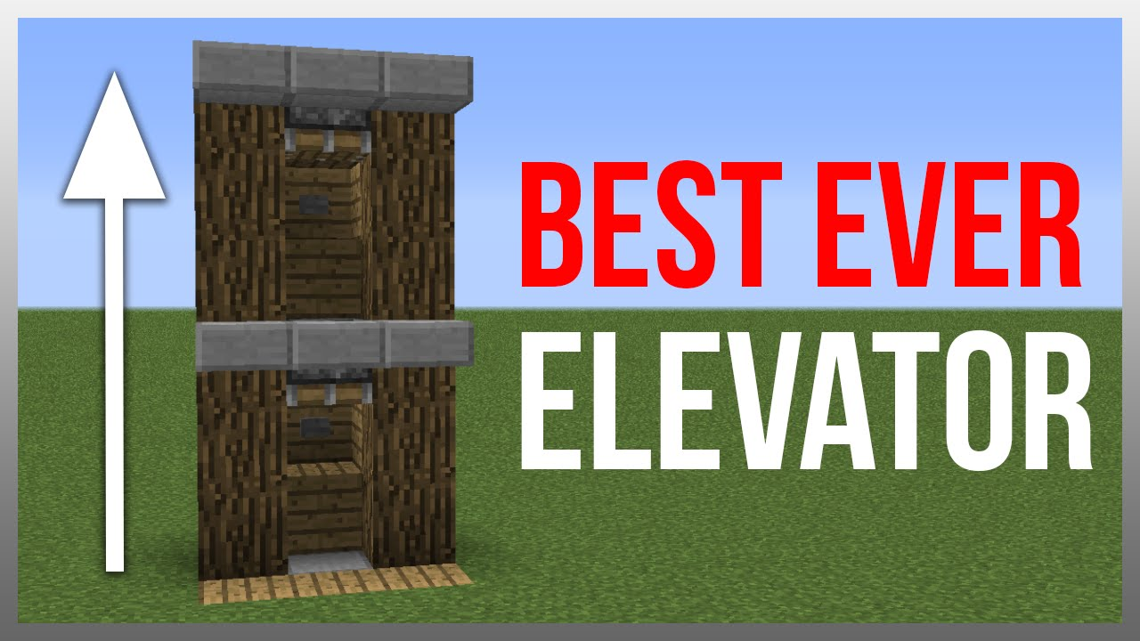 How To Make A Elevator In Minecraft