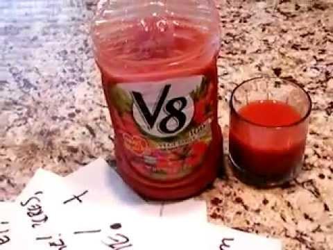V8 Review (100% Vegetable Juice)
