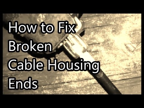 Fix Broken Cable With Bicycle Brake Adjuster Ford Car
