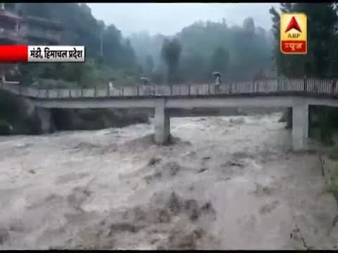 Overflowing Beas river causes havoc in Himachal Pradesh's Mandi, situation even worse in Uttarakhand