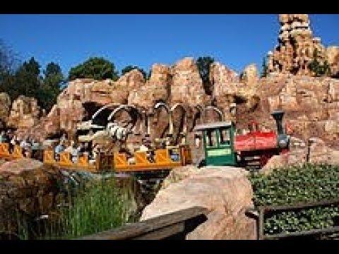 2017 Big Thunder Mountain Railroad ride with working Explosions! Post  refurb - Disneyland California