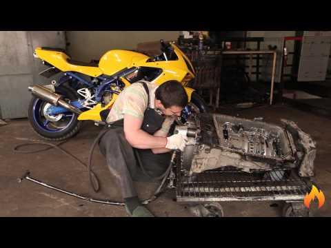 Ремонт АКПП ZF 6HP26. Рекорд разборки. E66 750i BMW Automatic transmission disassembling