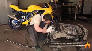 Avtomatik uzatish ZF 6HP26 ta'mirlash. Rekord disassembly. BMW E66 750i Avtomatik uzatish disassembling