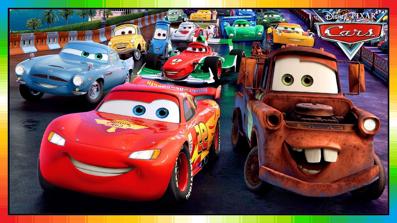 cars characters mcqueen game english mcmissile
