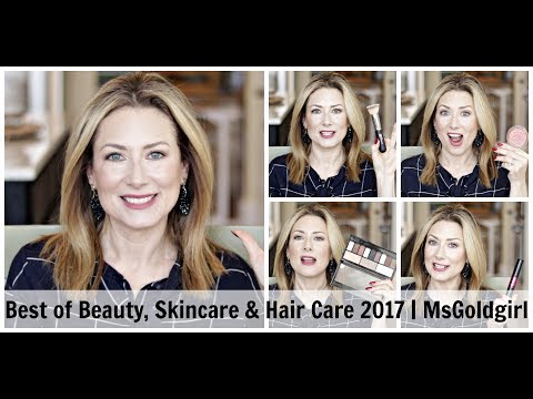 Best of Beauty, Skincare & Haircare for 2017 | MsGoldgirl