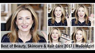 Best of Beauty, Skincare & Haircare for 2017 | MsGoldgirl