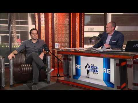 Actor & Comedian Bill Hader on The Time He Scored on LeBron James in Basketball - 8/11/16