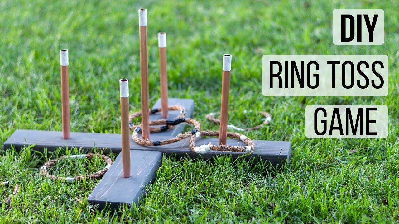 Easy Diy Ring Toss Game Outdoor Game Idea Anika S Diy Life