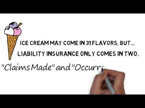 claims made vs occurrence form - YouTube