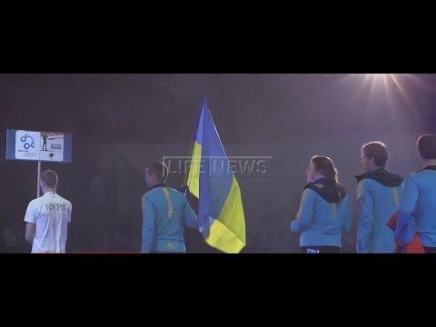 Украинская биатлонистка запела