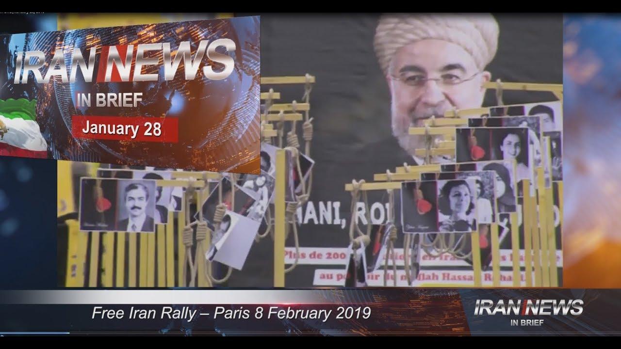 Iran news in brief, January 28, 2019