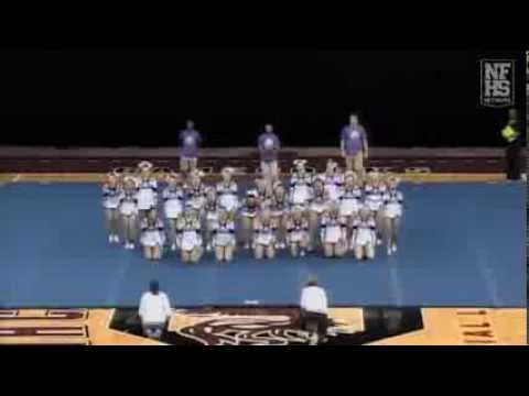 Chapin High School Cheerleading 13-14 at STATE