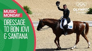 Smooth / It's My Life - Santana ft. Rob Thomas / Bon Jovi - Equestrian Dressage | Music Monday