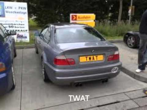 Cool Cars And Cool Number Plates   YouTube