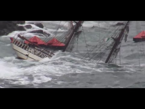 GPS Marine - Salvage of Tall Ship Astrid